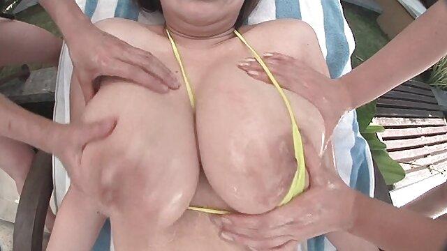 La bbw amateur gruesa Krissy Snow anallatinas ama el oral interracial