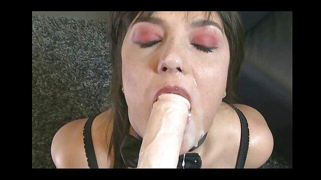 Bianca en una mamada de vestido negro y videos pornos latinos gratis burlas de polla con Jay
